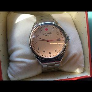 Kate spade silver watch gorgeous!!!